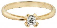 Brilio Něžný zásnubní prsten 226 001 00955 54 mm
