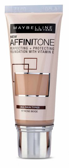 Maybelline Sjednocující make-up s HD pigmenty Affinitone (Perfecting + Protecting Foundation With Vitamin E) 30 ml 03 Light Sand Beige