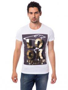 Trussardi Collection Pánské tričko M9 GORO_Bianco/White\n\n