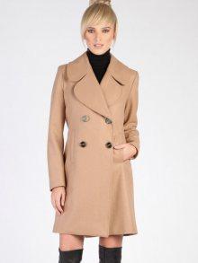 Isabel by Rozarancio Dámský dvouřadý vlněný kabát\n\n
