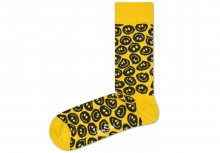 Twisted Smile Ponožky Happy Socks | Žlutá | Pánské | 36-40