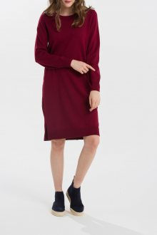 ŠATY GANT O1. MERINO WOOL DRESS