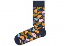 Ginkgo Ponožky Happy Socks | Černá Vícebarevná | Pánské | 41-46