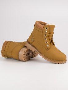 CNB Dámské kotníkové boty JH1802C