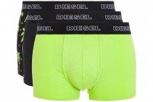 Boxerky 3 ks Diesel | Černá Zelená | Pánské | L