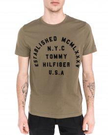 Triko Tommy Hilfiger | Zelená | Pánské | M