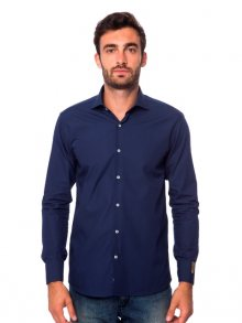 Trussardi Collection Pánská košile 28262 GALLICANO_25286/ BLU MD\n\n