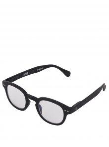 Černé ochranné brýle k PC IZIPIZI #C