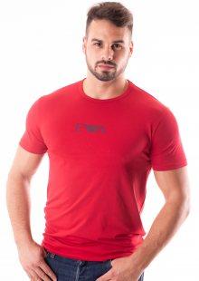 Pánské tričko Emporio Armani 111267 8A715 XL Červená
