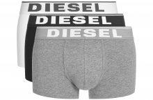 Boxerky 3 ks Diesel   Černá Bílá Šedá   Pánské   M