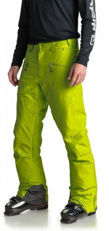 Quiksilver Pánské lyžařské kalhoty_zelená\n\n