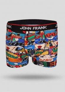 Pánské boxerky John Frank JFB100 L Dle obrázku