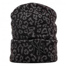 Kulich New Era Womens MLB Leopard Cuff Knit Black - UNI