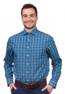 b3fc8872bfc Gant Pánská košile modrá n ...