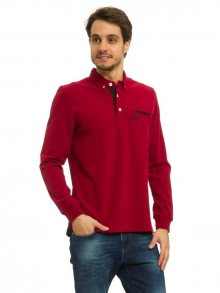 Galvanni Pánské polo triko STARORIGINAL DARK RED/MULTI\n					\n