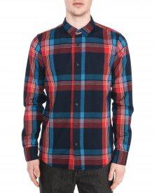 Košile Scotch & Soda   Modrá Červená   Pánské   L