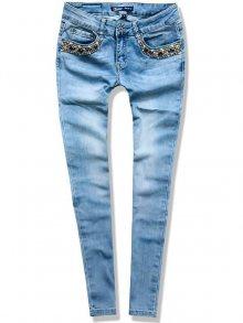 Jeans kalhoty G0119