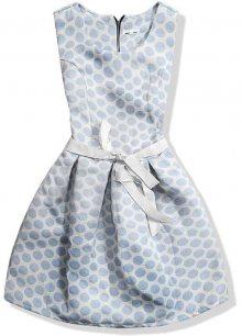 Světle modré šaty 8903