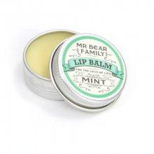 Mr. Bear Balzám na rty pro muže Mint (Lip Balm) 15 ml