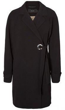 Vero Moda Dámský kabát Bette Sea 3/4 Jacket Black XS