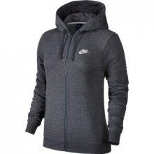Nike W Nsw Hoodie Fz Flc šedá XS