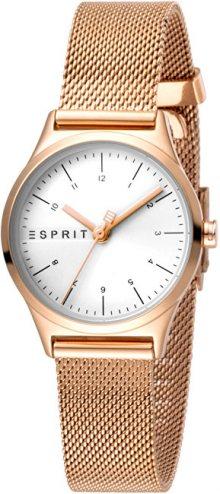 Esprit Essential Mini Silver Rosegold Mesh ES1L052M0075