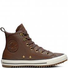 Converse hnědé unisex zimní tenisky Chuch Taylor All Star Hiker Boot Hi Chocola - 39,5