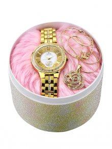Paris Hilton Set dámských hodinek a náhrdelníku\n\n