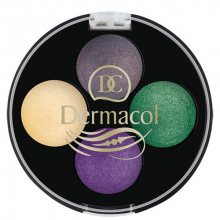 Dermacol Quattro Baked oční stíny 3 5 g