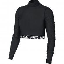 Nike W All Over Mesh Top Ls černá XS