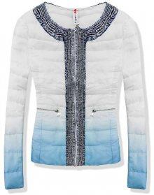 Světle modrá bunda 1601