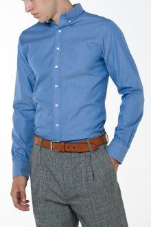 Košile GANT PINPOINT OXFORD REG BD