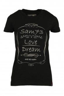 Sam 73 Dámské triko Sam 73 černá XL