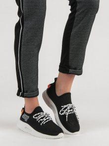 Krásné dámské  tenisky černé bez podpatku
