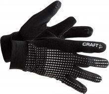 Craft Unisex běžecké rukavice_černá\n\n