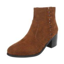 Dámské stylové boty na podpatku