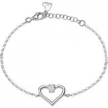 Morellato Zamilovaný stříbrný náramek Cuori SAIV25