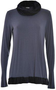 Deha Dámské triko High Neck L/S T-shirt D63470 Purple Grape L