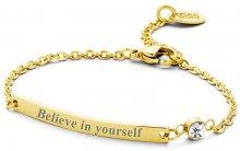 CO88 Ocelový náramek Believe in yourself 860-180-090139-0000