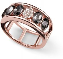 Oliver Weber Bronzový prsten Style 41137RG M (53 - 55 mm)