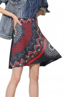 Desigual modrá sukně Fal Nise - M