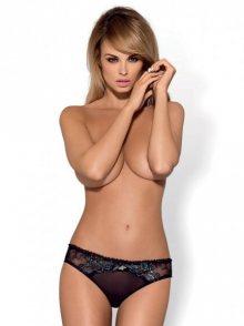 Obsessive kalhotky Amanta panties L/XL černá