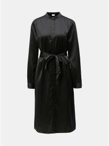 Černé košilové šaty VERO MODA AWARE Ginger