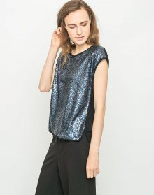 Nümph GLAM BLOUSE BLUE WING L