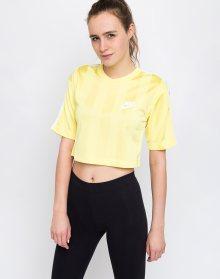 Nike Sportswear Shadow Stripe Top Yellow Pulse/White XS