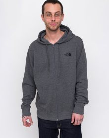 The North Face Open Gate Light Zip Hoodie Tnf Medium Grey Heather L