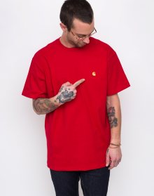 Carhartt WIP Chase T-Shirt Cardinal/ Gold L