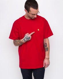 Carhartt WIP Chase T-Shirt Cardinal/ Gold L