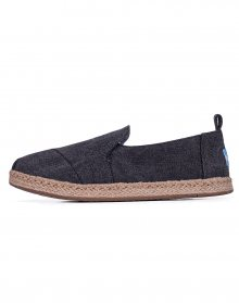 Toms Deconstructed Black Washed 37