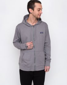 Patagonia P-6 Label Lightweight Full-Zip Hoody Feather Grey L